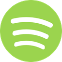 Logo, music player, Spotify, Brand, Streaming, Squares YellowGreen icon