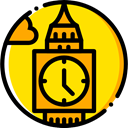 Clock, England, europe, united kingdom, uk, tower, Big ben, london, Monuments, Architectonic Gold icon