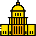 united states, Elections, Architecture And City, Capitol, Monuments, Politician, Political Black icon