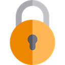 locked, Lock, secure, security, padlock, Tools And Utensils Black icon