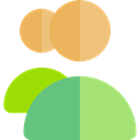Users, group, people, user, Group Users, Multiple Users, Seo And Web LightGreen icon