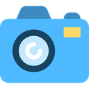 miscellaneous, photo, photography, digital camera, technology, photograph, Camera Lens, Camera CornflowerBlue icon