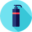 bathroom, Beauty, Shampoo, hygiene, gel, Healthcare And Medical SkyBlue icon