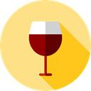wine, cup, drink, food, glass, drinking, Wine Glass, Food And Restaurant Khaki icon