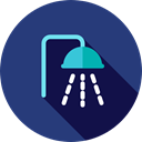 Furniture And Household, medical, bathroom, Shower, relax, hygiene, Shower Head DarkSlateBlue icon