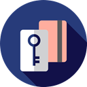 Key, password, security, Passkey, Access, pass, Tools And Utensils, Door Key DarkSlateBlue icon