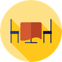 food, table, dinner, Restaurant, Food And Restaurant Khaki icon
