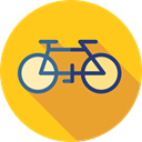 sport, transportation, transport, vehicle, sports, Bike, Bicycle, cycling, exercise Gold icon