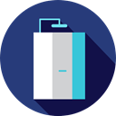 Furniture And Household, bathroom, Shower, relax, hygiene, Shower Head DarkSlateBlue icon