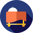 Room Service, Food And Restaurant, Cart, Services, tray, covered, Service, hotel DarkSlateBlue icon