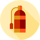 security, safety, emergency, Fire extinguisher, Firefighting Moccasin icon