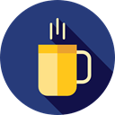 hot drink, Tea Cup, Food And Restaurant, food, Chocolate, mug, coffee cup, Coffee DarkSlateBlue icon