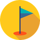 Ball, Golf, sports, birdie, leisure, Sports And Competition Icon
