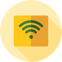 interface, technology, signs, internet, Multimedia, Computer, Connection, miscellaneous, Wifi, wireless Moccasin icon