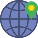Globe Grid, Seo And Web, signs, Earth Globe, Earth Grid, Wireless Internet, world, Multimedia, interface, worldwide, internet LightSlateGray icon