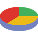 Business, Stats, statistics, marketing, Pie chart, finances, graphical, Seo And Web Black icon