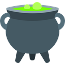 food, Cook, halloween, pot, Cauldron DarkSlateGray icon
