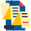 document, File, Archive, interface, Business And Finance Moccasin icon