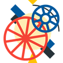 Gear, settings, configuration, cogwheel, Tools And Utensils, Seo And Web Tomato icon