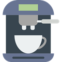 technology, hot drink, kitchenware, Coffee Machine, Coffee Shop, Food And Restaurant DarkSlateGray icon