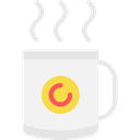 coffee cup, hot drink, Tea Cup, Food And Restaurant, food, Chocolate, mug WhiteSmoke icon