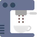 technology, hot drink, kitchenware, Coffee Machine, Coffee Shop, Food And Restaurant SlateGray icon