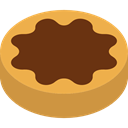 food, cookie, Dessert, Bakery, Biscuit, baker, Food And Restaurant SaddleBrown icon