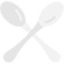 Restaurant, spoon, Cutlery, Tools And Utensils, Food And Restaurant Black icon