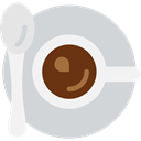 food, Chocolate, mug, coffee cup, hot drink, Tea Cup, Food And Restaurant LightGray icon