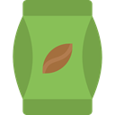 Coffee Bag, Coffee Beans, Food And Restaurant, Coffee, food, Beans, Coffee Shop OliveDrab icon