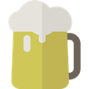 drink, food, mug, beer, Pint, Beer Mug, Pint Of Beer, Music And Multimedia DarkKhaki icon