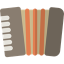 music, Accordion, musical, Music Instrument, Music Instruments, Accordions, Harmonic, Music And Multimedia Icon