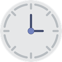 time, watch, tool, Clock, square, Tools And Utensils, Time And Date Lavender icon