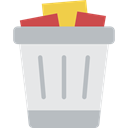 Bin, Garbage, Can, Tools And Utensils, miscellaneous, Trash, interface, Basket Lavender icon