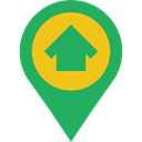 Map Point, Maps And Location, interface, pin, placeholder, signs, map pointer, Map Location Icon