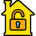 buildings, property, real estate, Home, house, Construction Gold icon