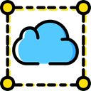 Cloud, weather, Cloudy, sky, Cloud computing, Seo And Web Black icon