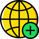 internet, world, Multimedia, Earth Grid, Wireless Internet, Globe Grid, Seo And Web, interface, worldwide, signs, Earth Globe Gold icon