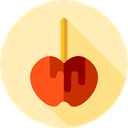 food, Fruit, organic, Dessert, Caramelized Apple, Food And Restaurant Moccasin icon