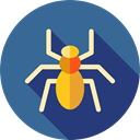 Arachnid, Animal Kingdom, insect, spider, Animals SteelBlue icon