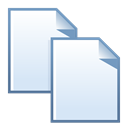 Copy, documents, Duplicate, Clone Lavender icon