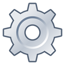 Cog, Options, Setting, Gear, system, preferences, settings Black icon