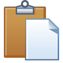 Clipboard, paste, Board, task Peru icon