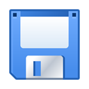 save, Disk, Floppy CornflowerBlue icon