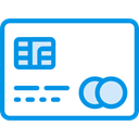 card, Chip, Money, credit, Credit card, payment, Commerce And Shopping DodgerBlue icon