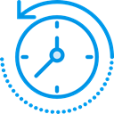 before, Rewind Time, Commerce And Shopping, Seo And Web, Clock, time, rewind DodgerBlue icon