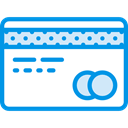 card, Chip, Money, Commerce And Shopping, credit, Credit card, payment DodgerBlue icon