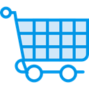 store, Cart, shopping, trolley, shopping cart, Shop, market, Commerce And Shopping DodgerBlue icon