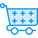 store, Cart, shopping, trolley, shopping cart, Shop, market, Commerce And Shopping Icon