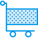 shopping, trolley, shopping cart, Shop, market, Commerce And Shopping, store, Cart Lavender icon